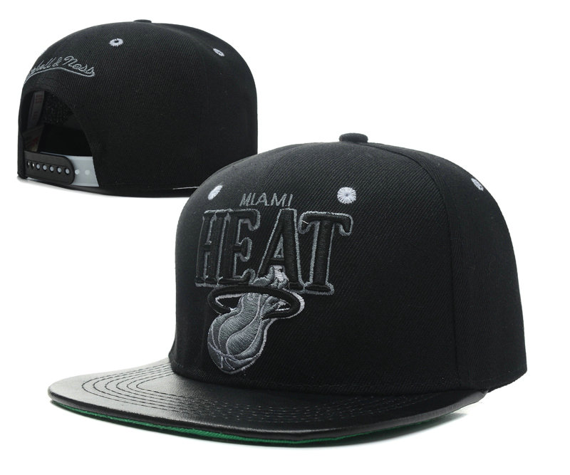 Miami Heat Snapback Hat SD 2